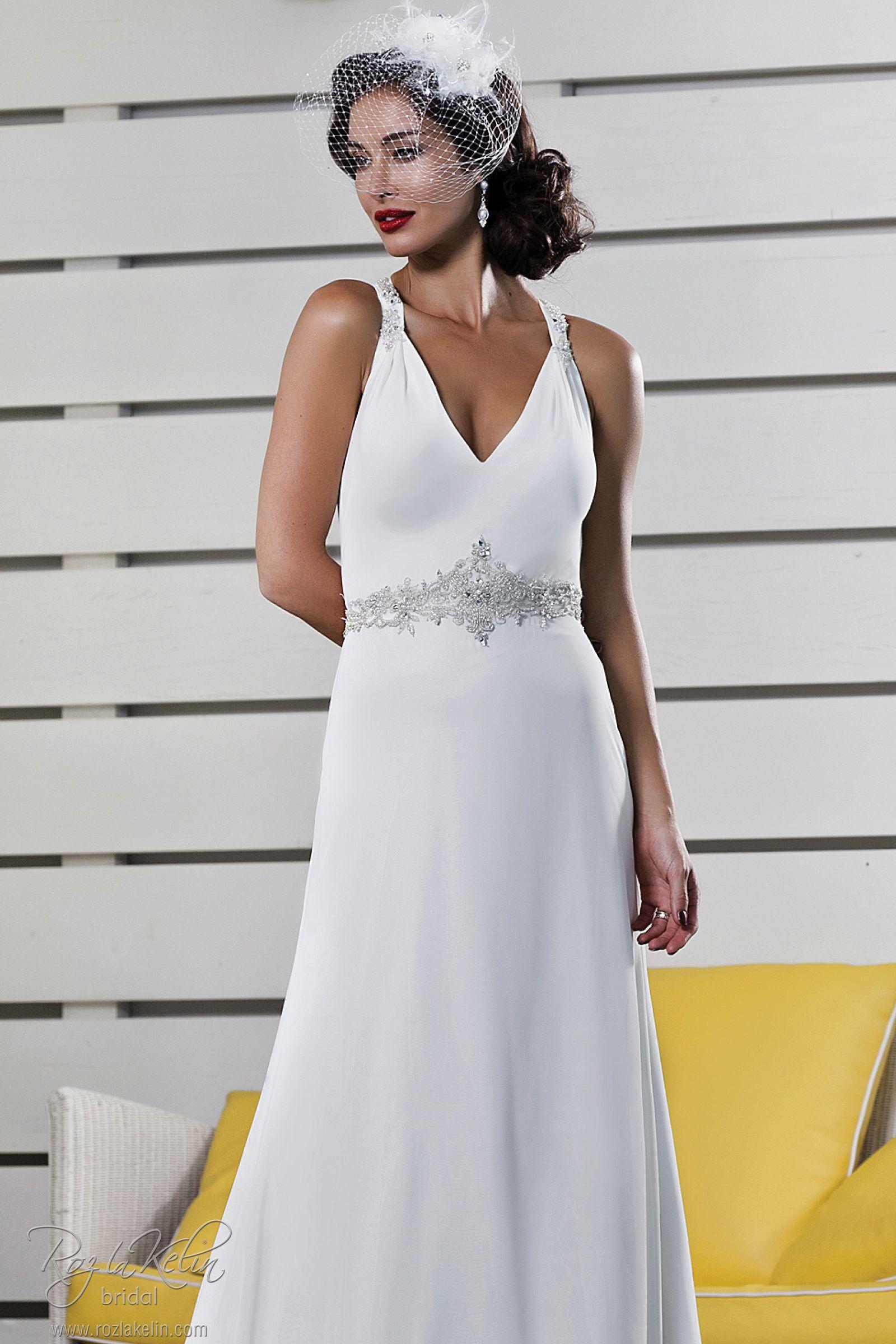 Roz La Kelin Bridal Cashmere 5465T Wedding Dress
