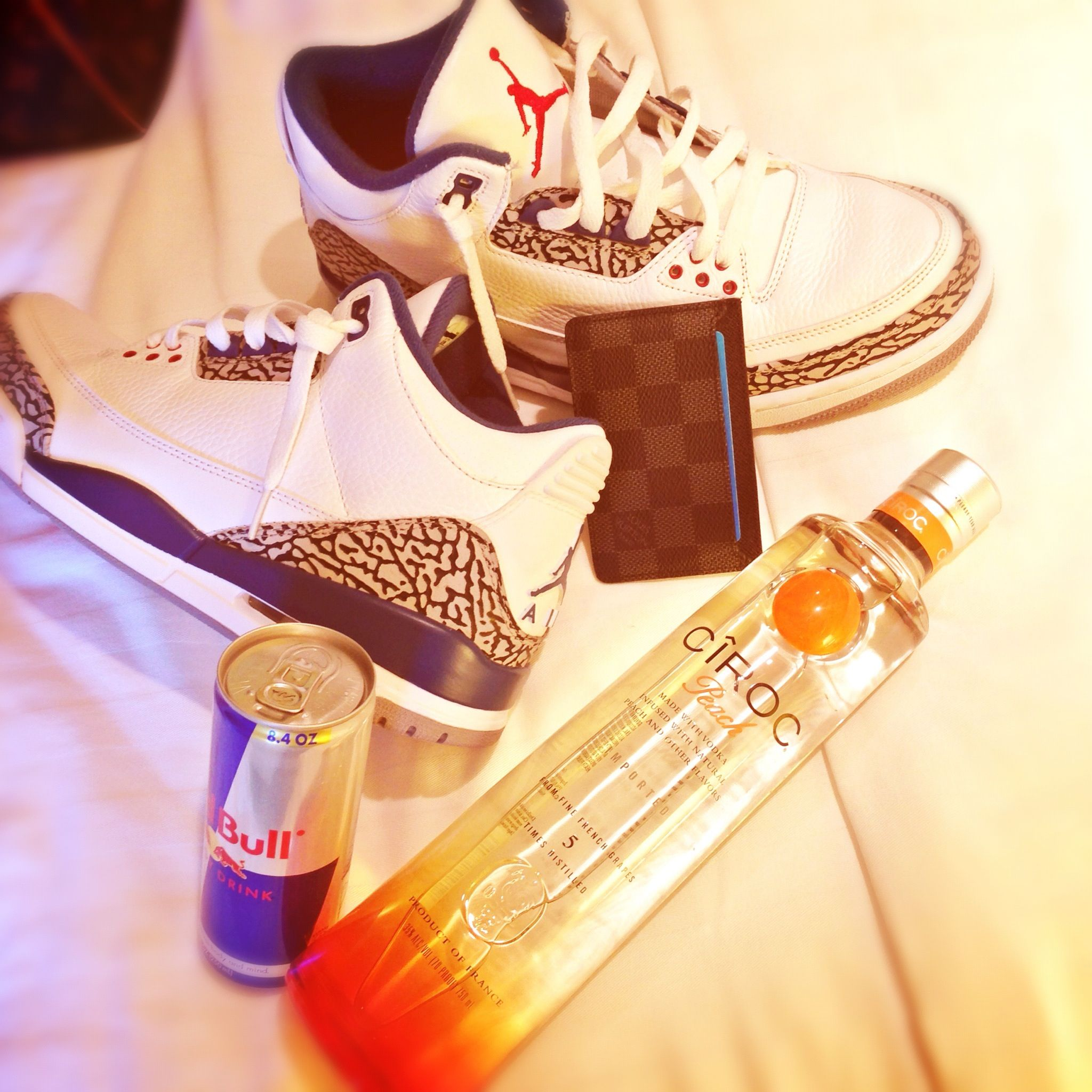 timeless design 3f675 32095 Jordan 3, ciroc, redbull, louis vuitton.   fashion   Bottle ...