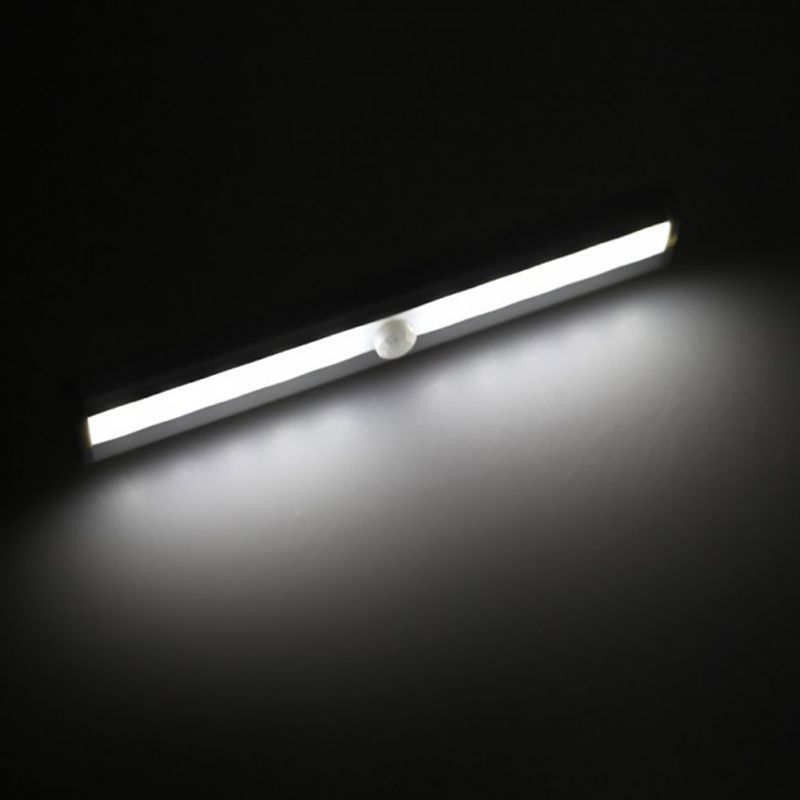 10 LED USB Battery Recharging Wall Lamp Cabinet Wardrobe Light IR Infrared Motion Detector Wireless Sensor Lighting Closet Night #Affiliate