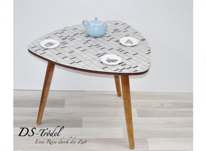 Opal Kleinmöbel Tischchencocktailtisch 50er Jahre Von Ds Troedel