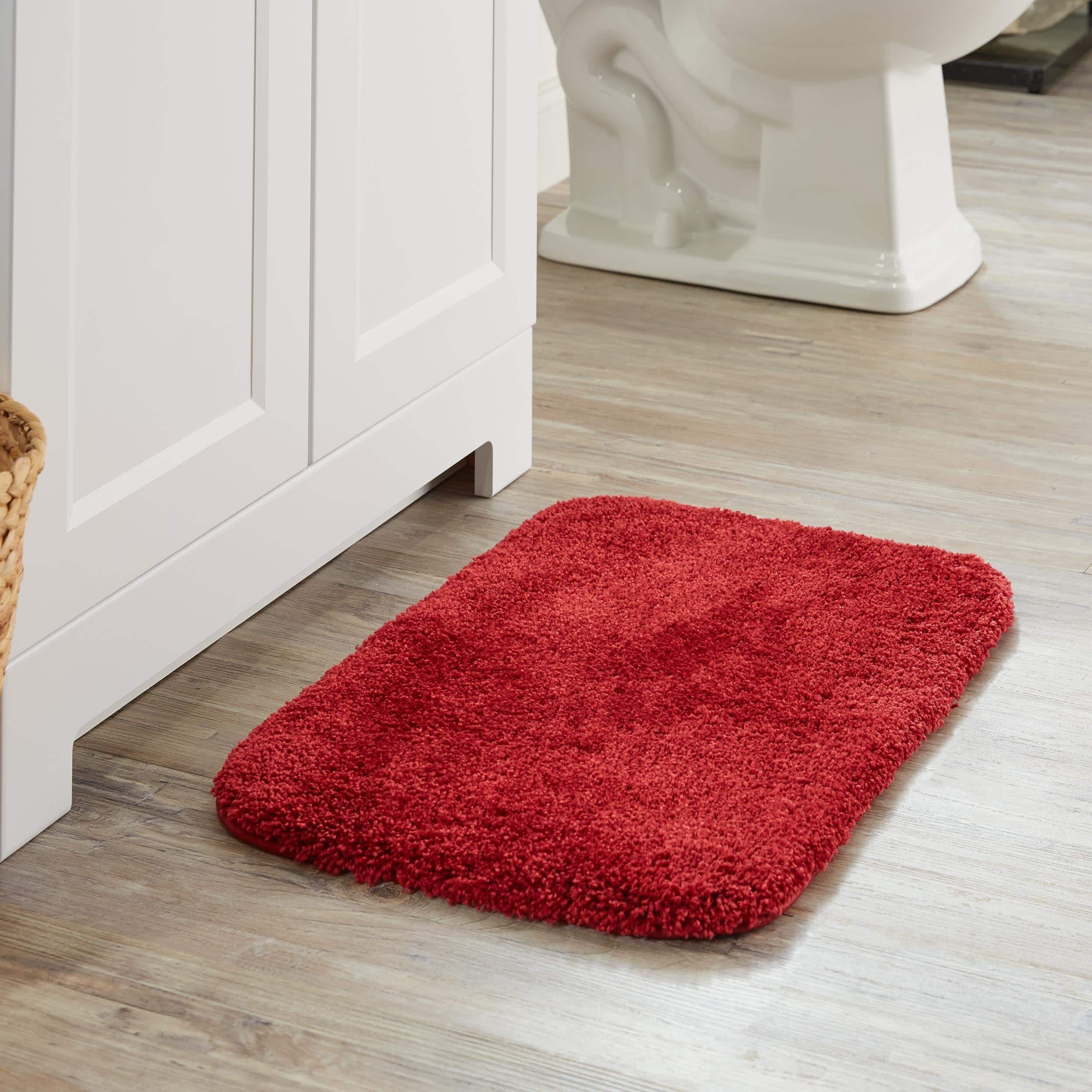 Overstock Com Online Shopping Bedding Furniture Electronics Jewelry Clothing More Red Bath Rug Bath Rugs Bath Rug [ 2500 x 2500 Pixel ]