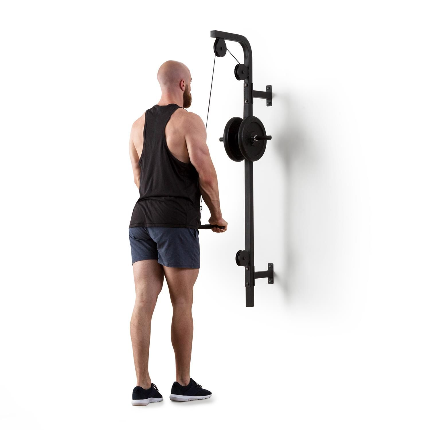 Stronghold Lat Pull At Home Gym Home Gym Design Home Made Gym