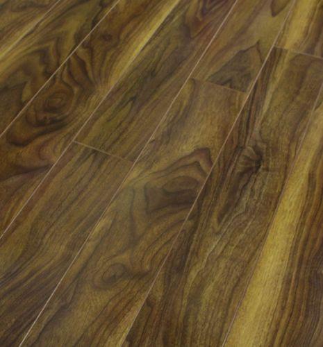 Pallet Deals 12mm Gloss Laminate Wood Flooring Walnut V Groove
