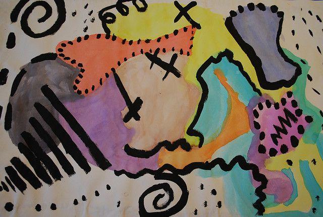 Kandinsky line project Art projects, Elements of art