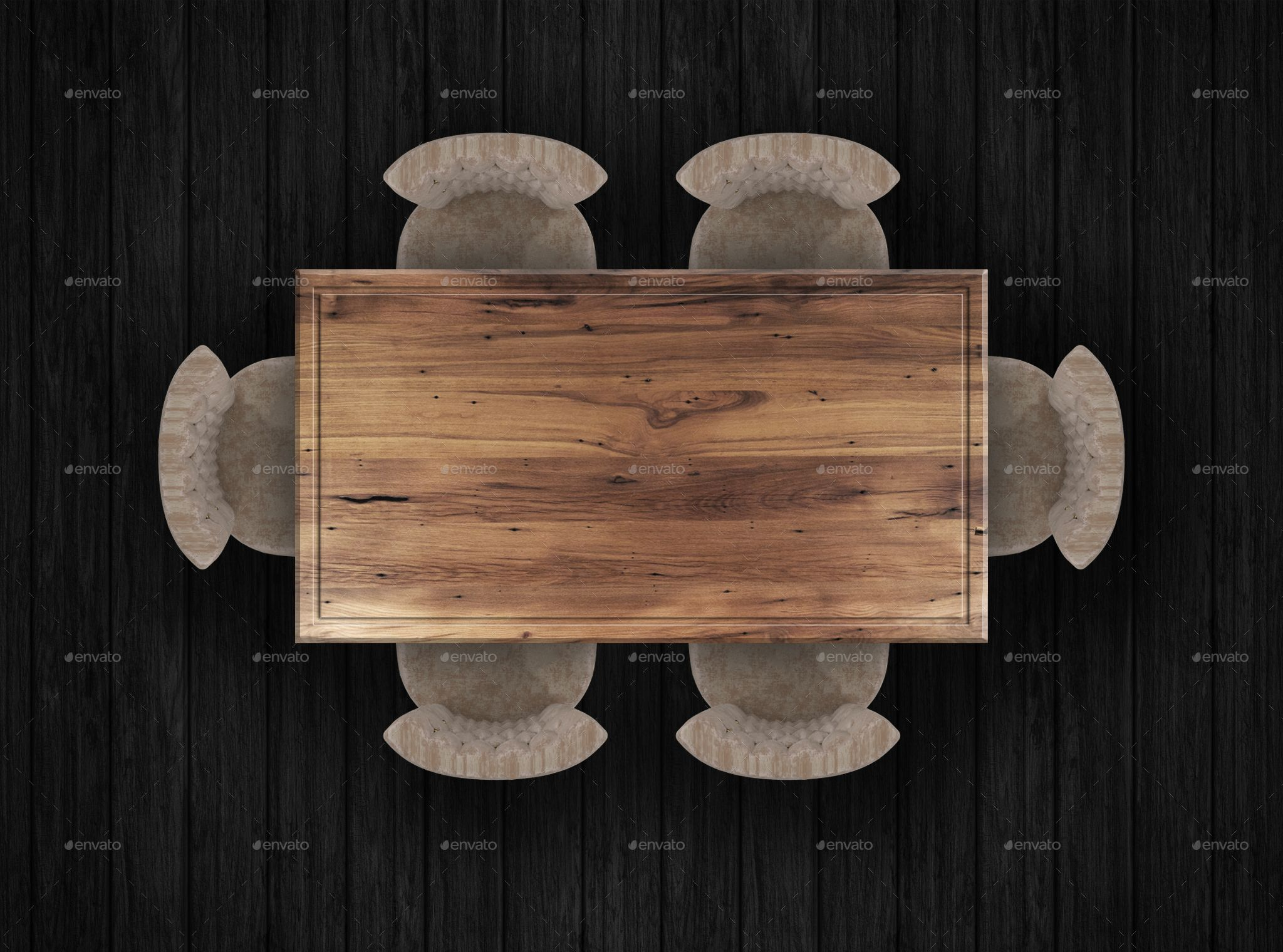 114 Top View Furnitures For 3d Floor Plans Vol 3 Flooring Dining Table Top Kitchen Furniture Design