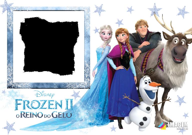Molduras Infantis Em Png Para Foto Montagem Imagem Legal Frozen Frozen Disney Frozen 2