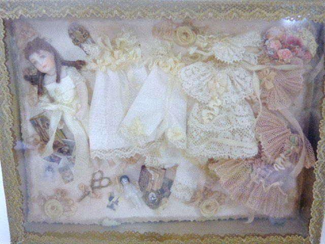 doll and wardrobe by Cathy Hansen and Corky Petterson