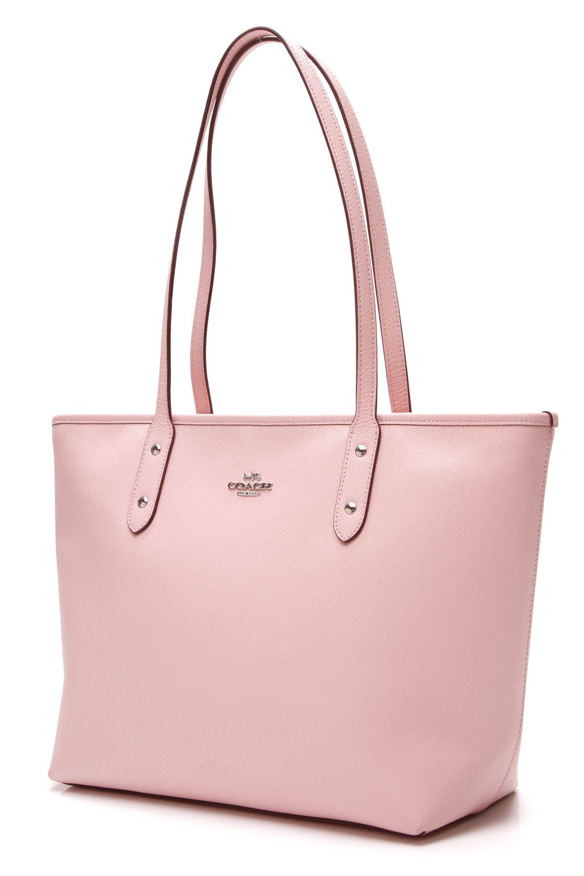 06ea9eac9284ed City Zip Tote Bag - Pink Leather in 2019 | In The Bag | Bags, Pink ...