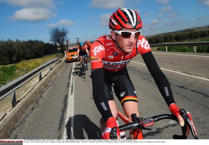 #VueltaAndalucia #RutaCiclistaDelSol2015 #Stage5 - Jurgen Van Den Broeck (Lotto - Soudal)
