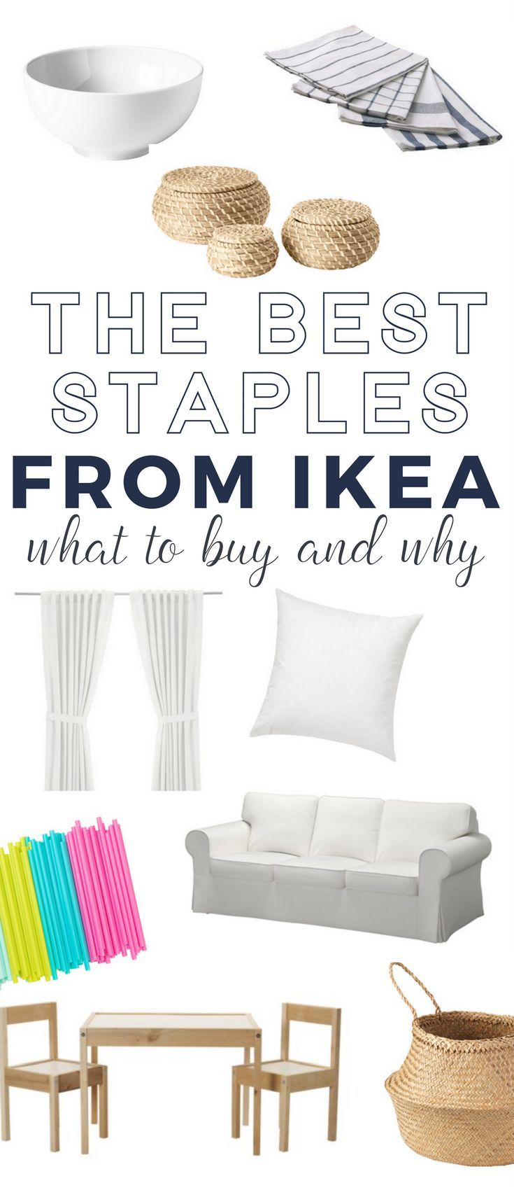 What to Buy at IKEA - a complete list of IKEA staples that everyone should know about!