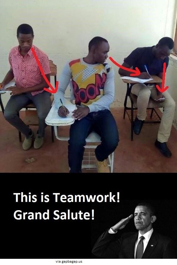 Funny Meme About Cheating vs. Exams ft. Barack Obama