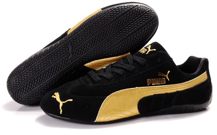 e6442e9a0b9 Men Puma Fur 889 - Black Golden in 2019