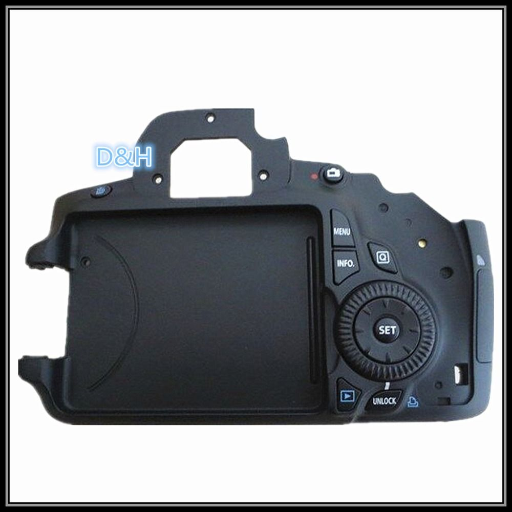 New Back Cover Assembly Units Function Keys For Canon Eos 60d Slr