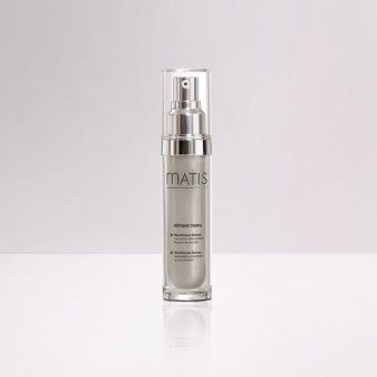 Matis TIME RESPONSE Densifiance Serum helps the skin to be redensified and visibly reshapes face contours by smoothing the figures.