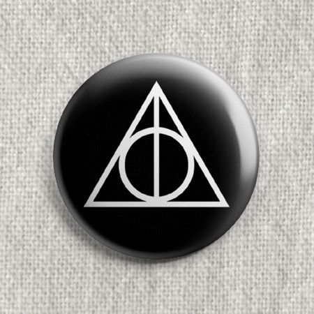 Boton Harry Potter e as Relíquias da Morte