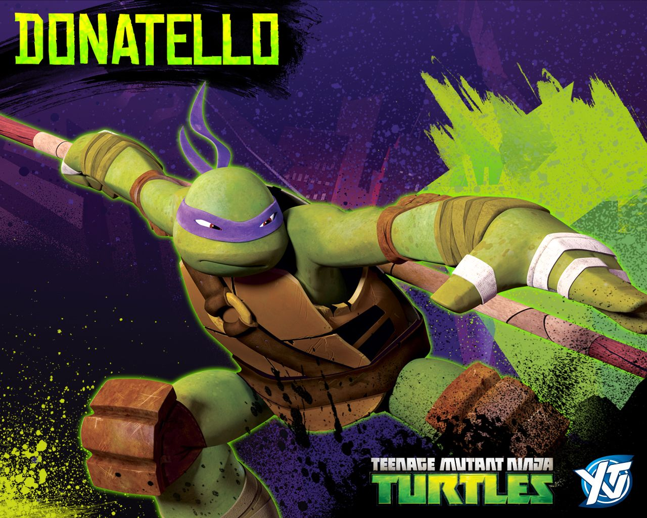 wallpaper do donatello tartarugas ninja terceiro