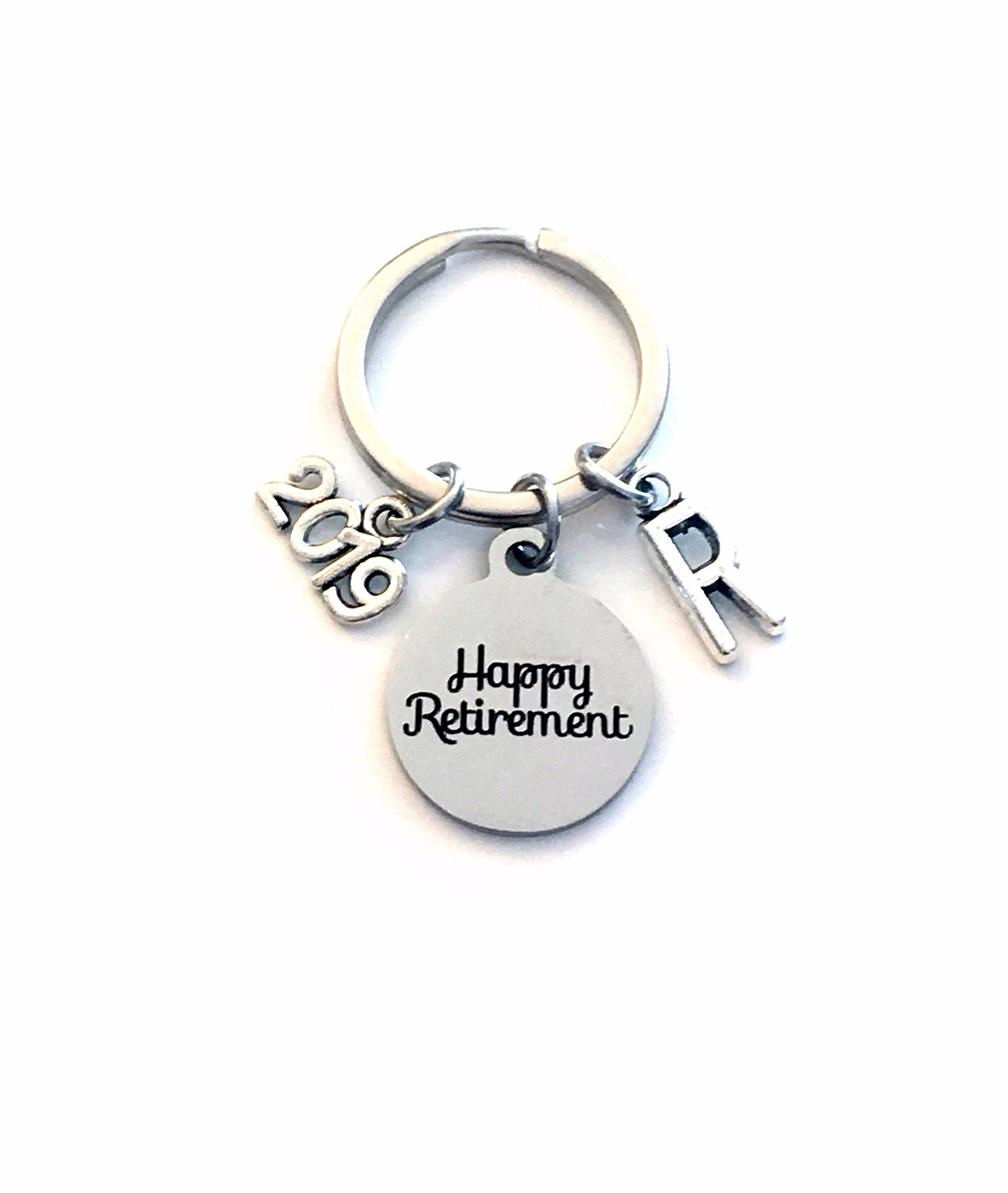 2019 Retirement Gift for Him or Her Keychain b330781407