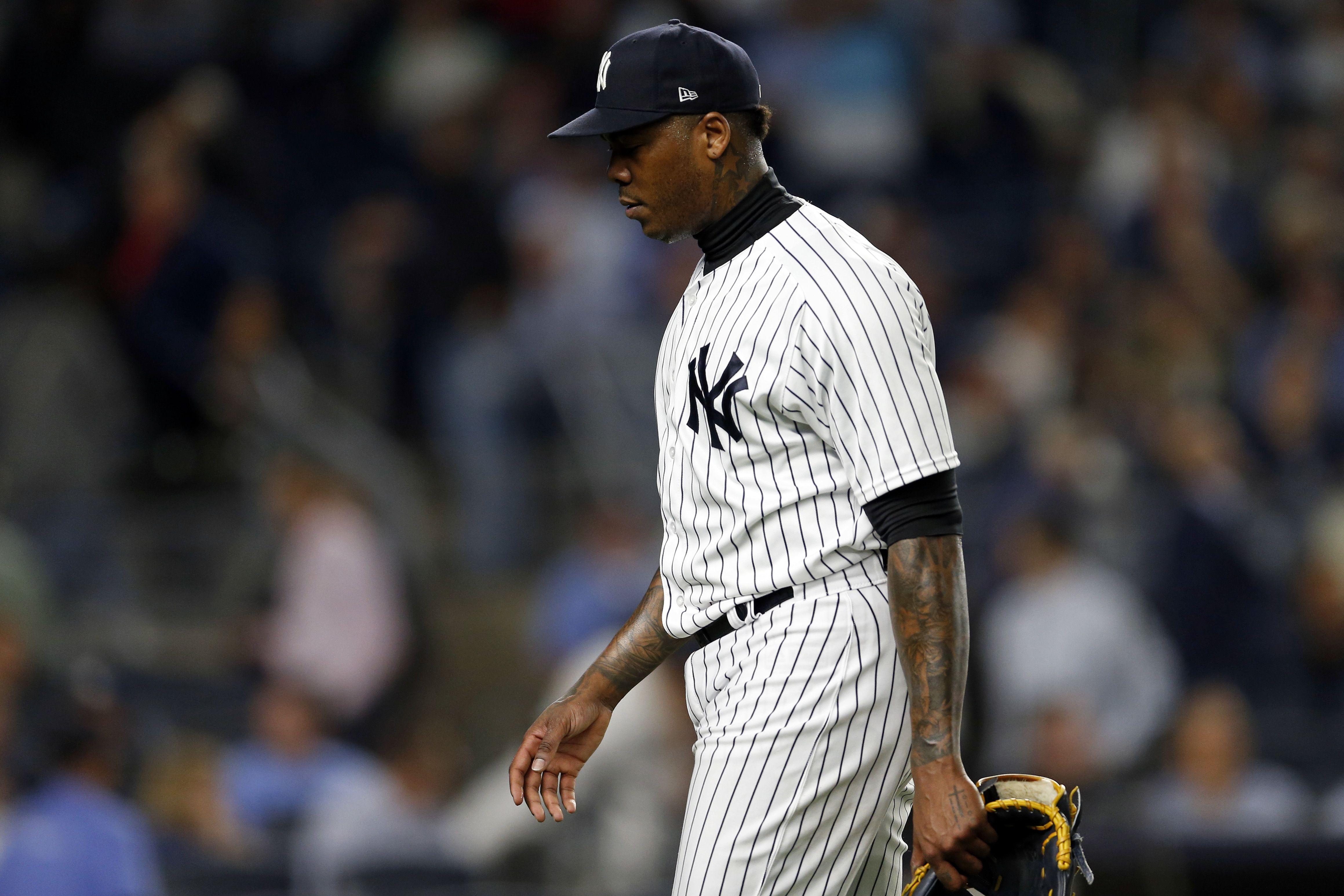 Yankees Aroldis Chapman Doesn T Throw Jose Altuve Under The Bus Over Alcs Home Run In 2020 Yankees Jose Altuve New York Yankees