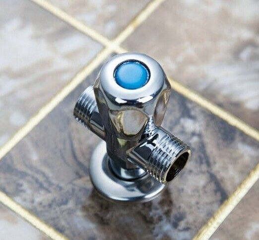 E Pak New Water Stop Valve Bathroom Accessory Shower Angle Valve 1