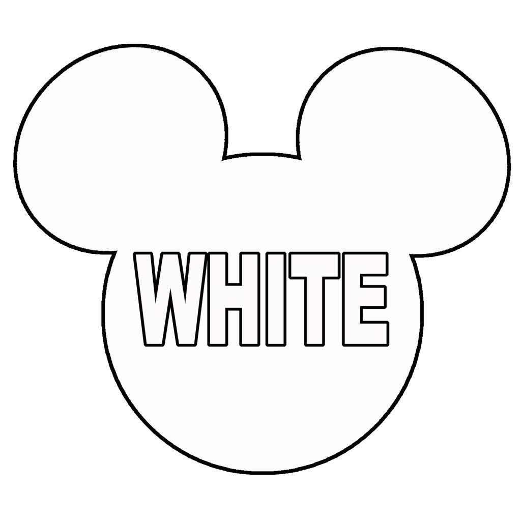 mickey mouse sablona hledat googlem projekty na vyzkoušení