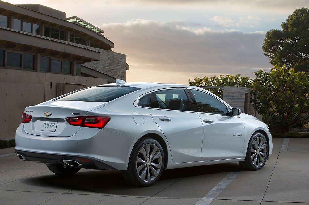 New Review Chevrolet Malibu 2016 Release Rear View Model