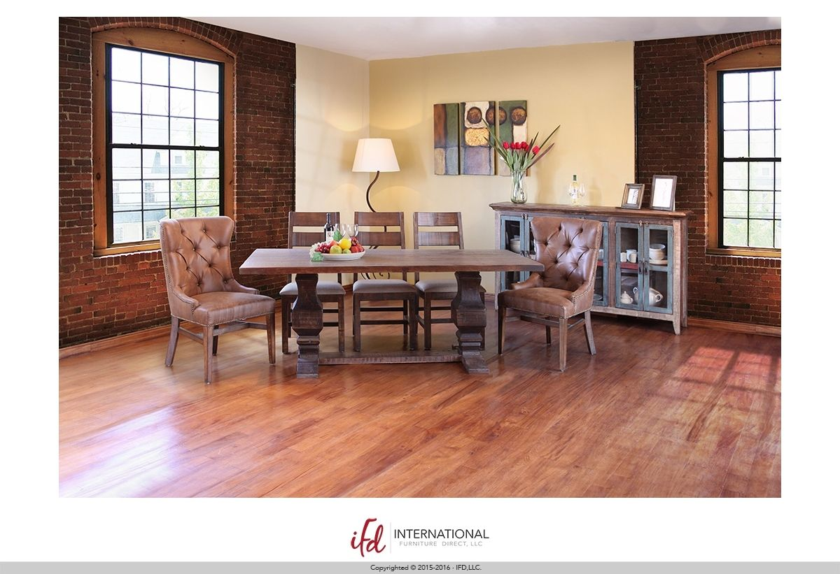 Ifd Terra Dining Table Furniture Dining Table Rustic Chair