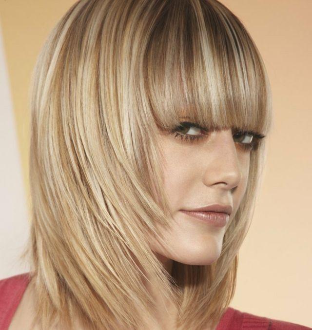 Frisur Ideen Bilder Blonde Strähnen Frisuren Pinterest Blonde