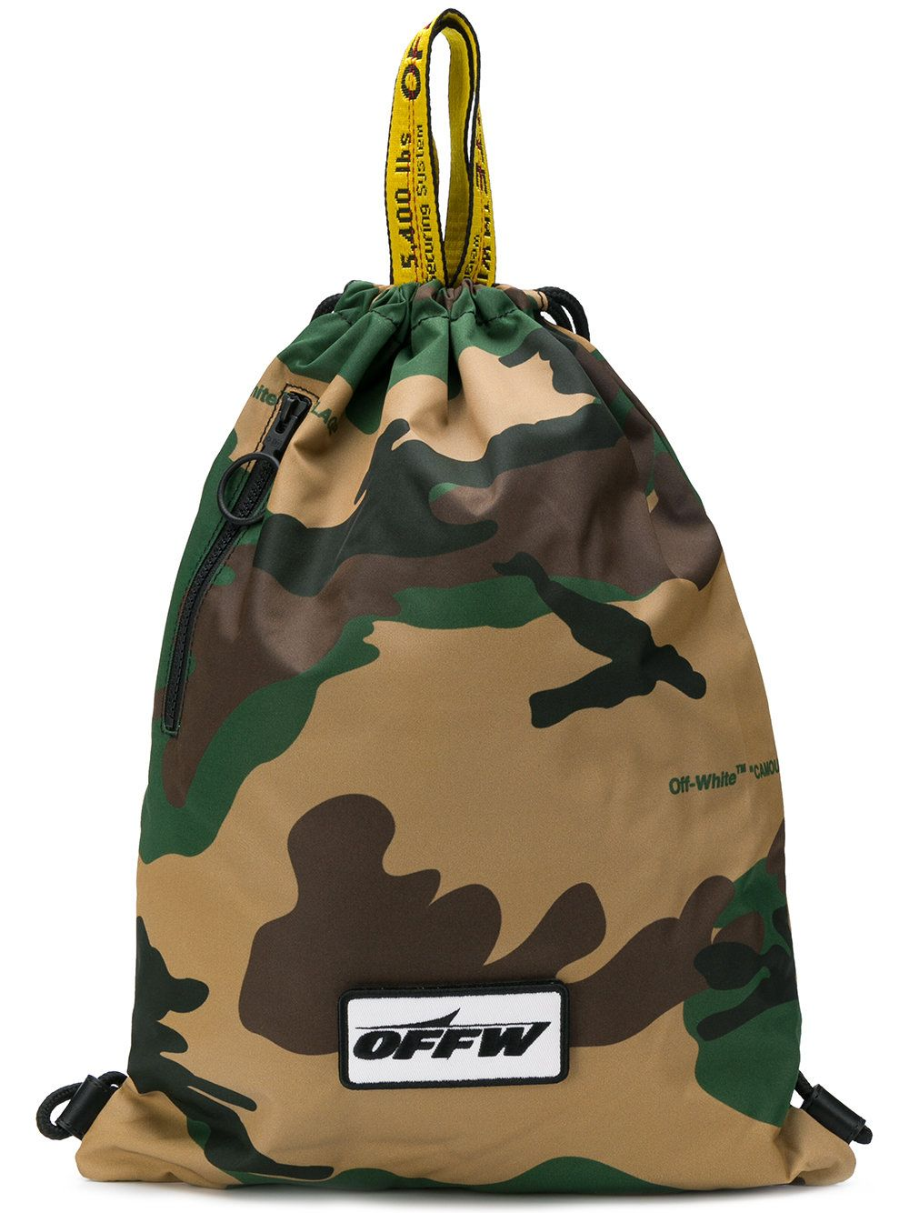 b55abee808b13 Off-White Camouflage print backpack | camo | Backpacks, Camouflage ...