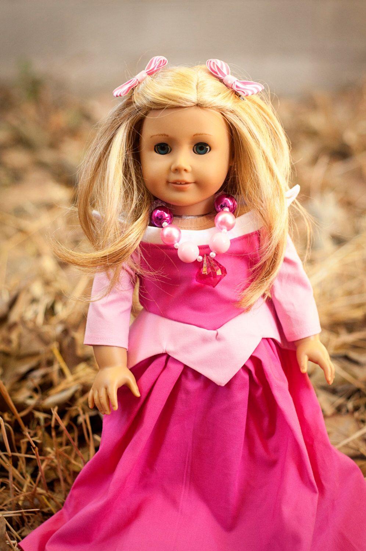 Sleeping Beauty American Girl Doll Chunky Necklace, Disney