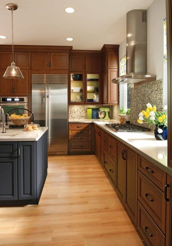 kitchen color ideas with light brown cabinets tags ...