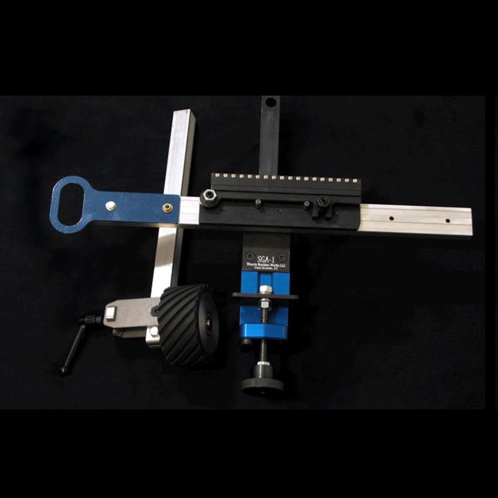 Wuertz Machine Works | SGA-1 Surface Grinding Attachment