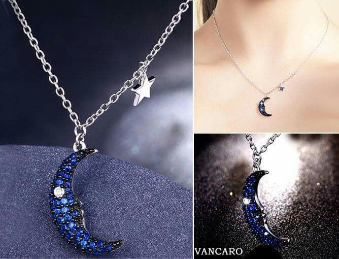Vancaro blue moon pendant jewelry finds pinterest blue moon vancaro blue moon pendant aloadofball Images