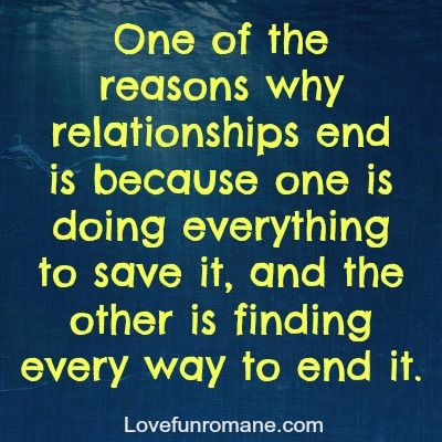 help when a relationship ends