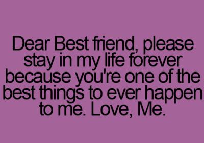 Dear Best Friend Tumblr Zmnr Best Friend Quotes Friendship