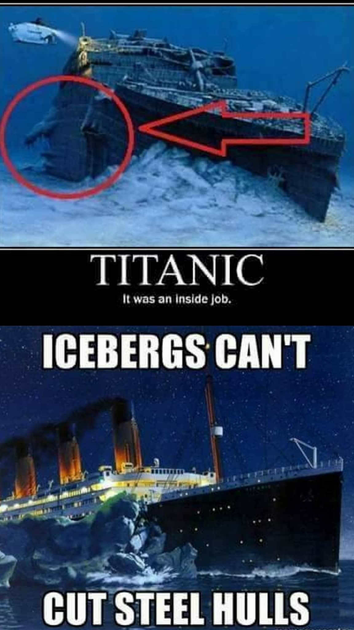Wake Up Titanic Inside Job