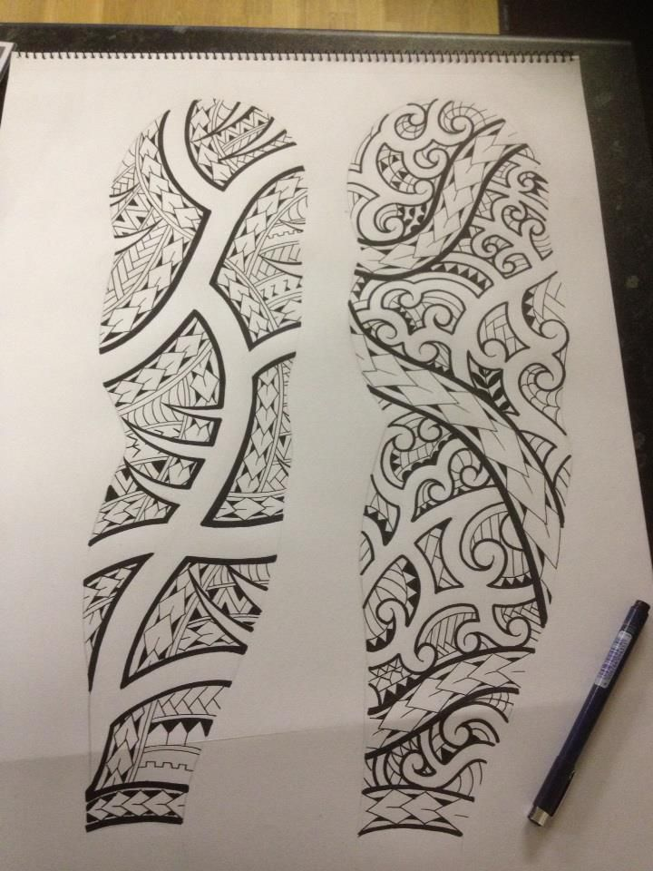 Maori sketches by shadow3217 tttt pinterest maori for Spikes tattoo maui
