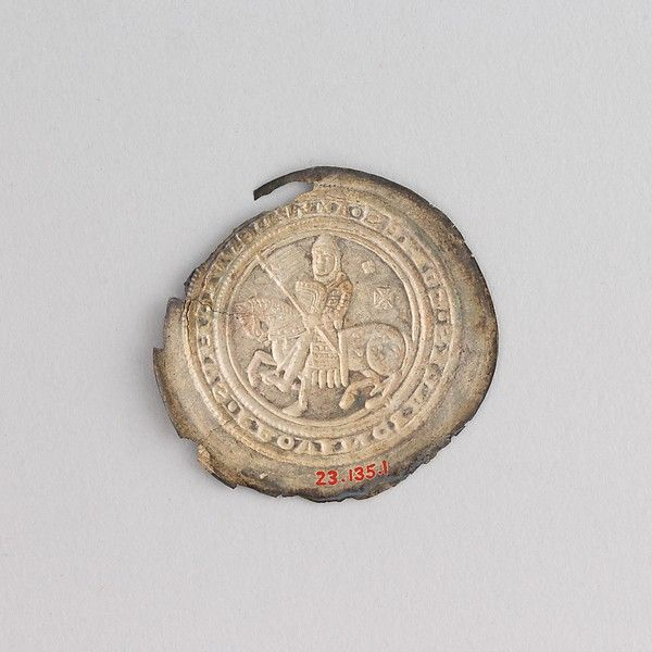 Coin Showing Ludwig Iii Louis Iii The Pious Date 12th Century