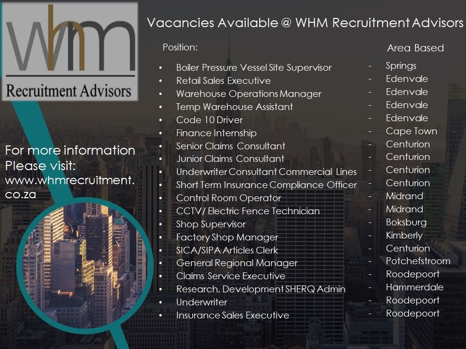 Pin By Whmrecruitment Advisors On Whm Recruitment Advisors