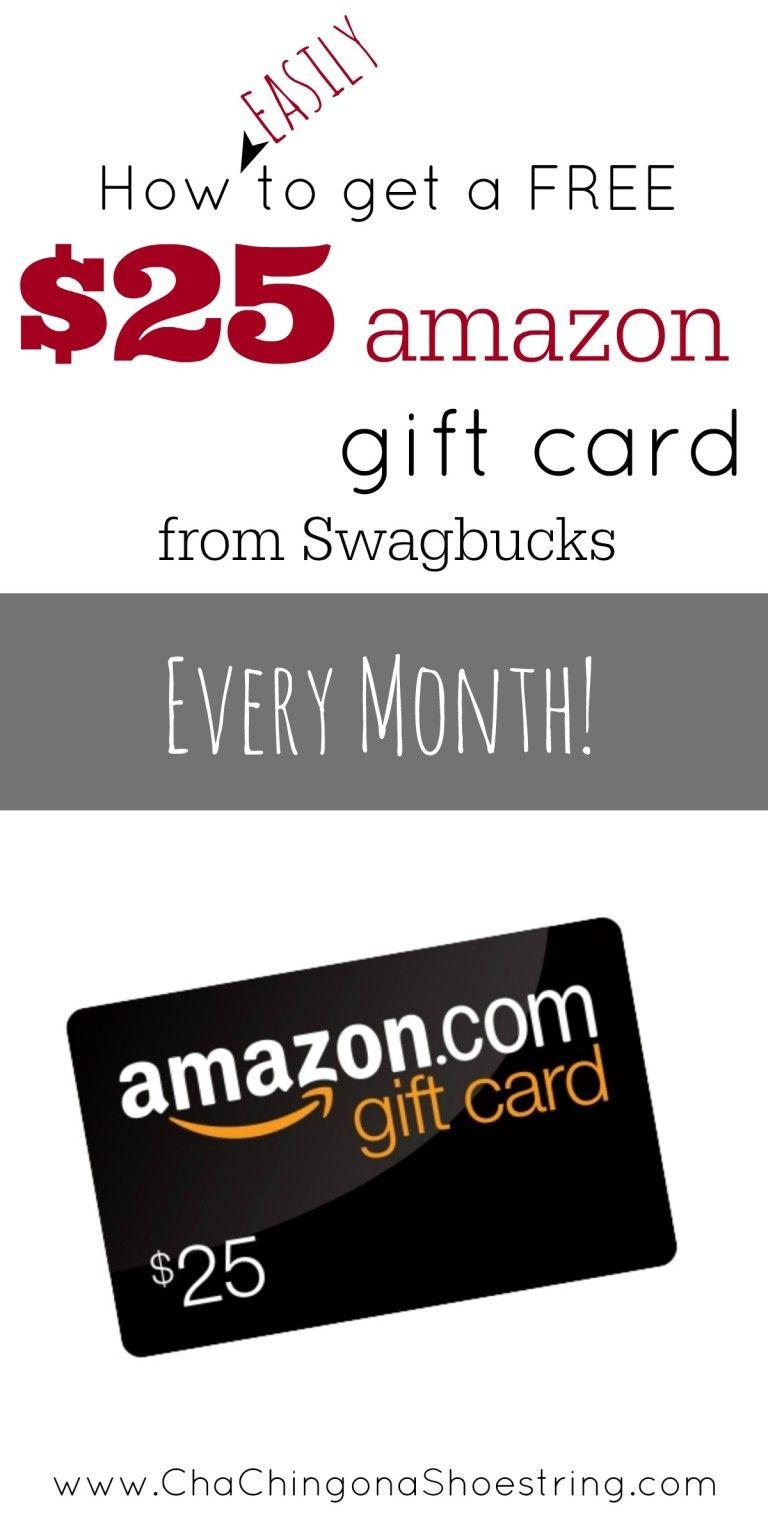Free amazon gift card plus swagbucks sign up code 2016