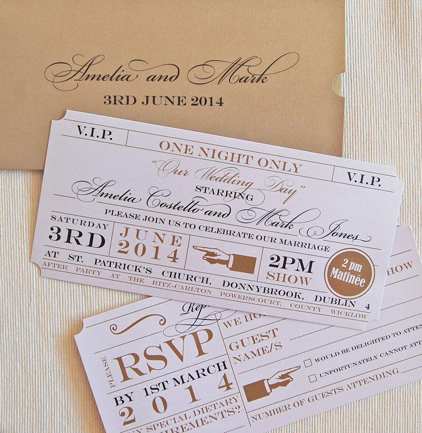 theatre-ticket-invitation.jpg (1440×1476) | Invitation card design ...