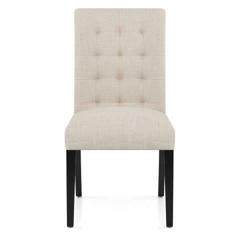 Thornton Dining Chair Cream Fabric - Atlantic Shopping ...