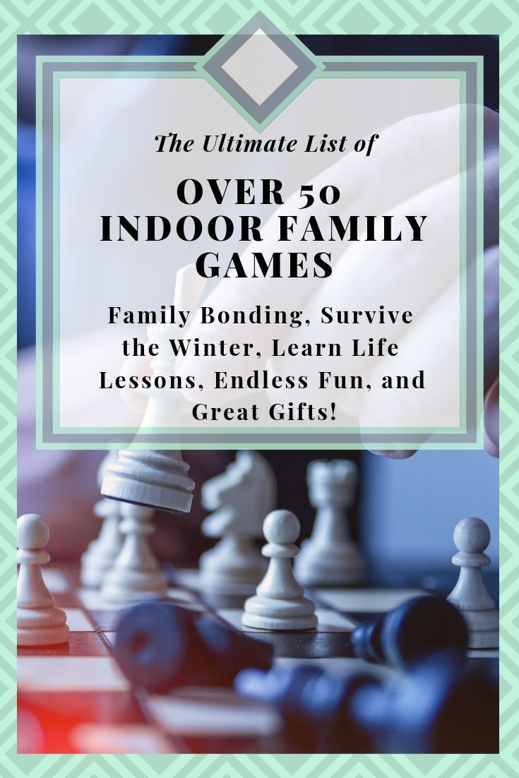 Ultimate List of OVER 50 Family Board Games- Family Bonding, Survive the Winter, Learn Life Lessons, Endless Fun, and Great Gifts! #bondingwithchild Need more family time? Board games and card games are great for children and families! They are so much fun, they help families bond, they teach valuable life lessons, and more! Check it out! #games #boardgame #cards #cardgame #family #fun #familynight #familytime #lesson #life #skills #teach #valuable #mom #dad #kid #child #siblings #teens #bonding #bondingwithchild
