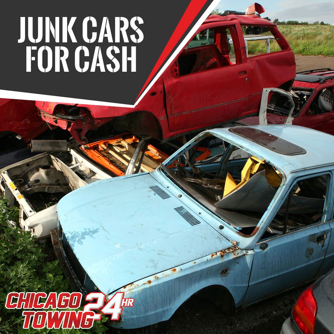 Get cash for your junk cars through Towing Chicago! www