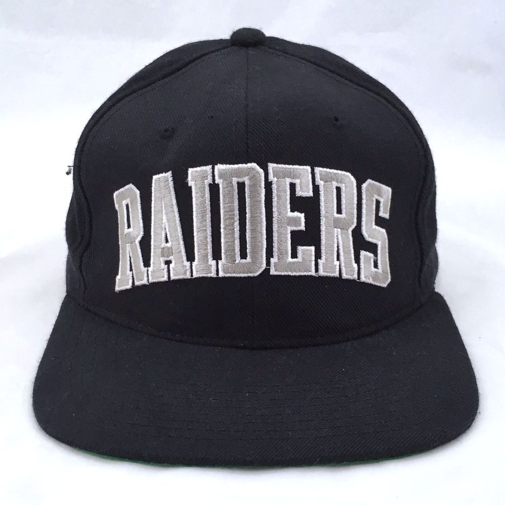 Los Angeles Raiders NFL Football Snapback Cap Starter 100% Wool Black Ball  Hat  Starter  BaseballCap 7937e24ed0d