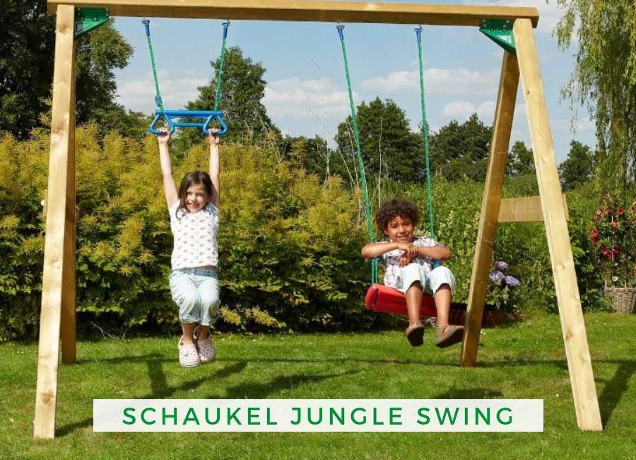Schaukel Jungle Swing 250 Cm Hoch Schaukel Garten Gartenschaukel Holz Schaukel