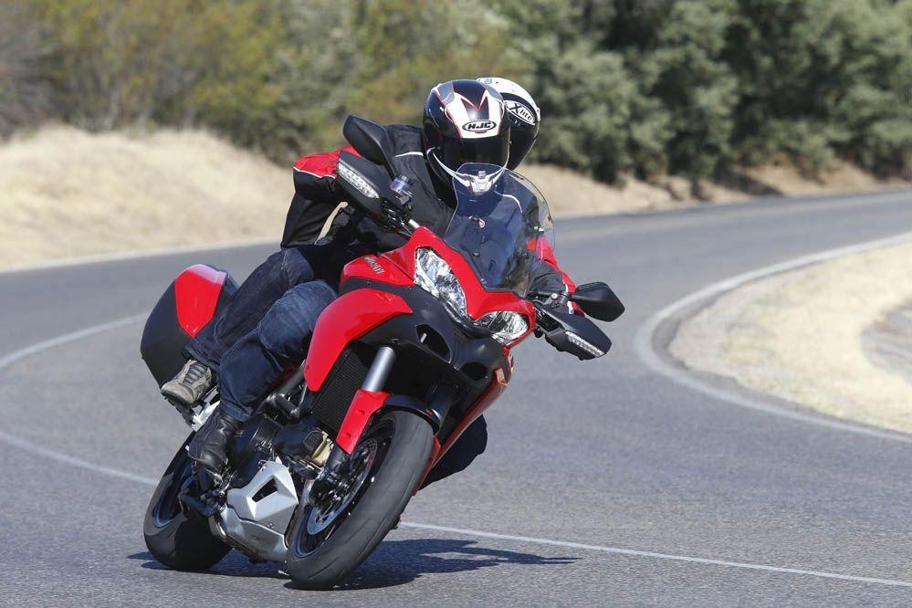 Imágenes de la Ducati Multistrada 1200 Touring