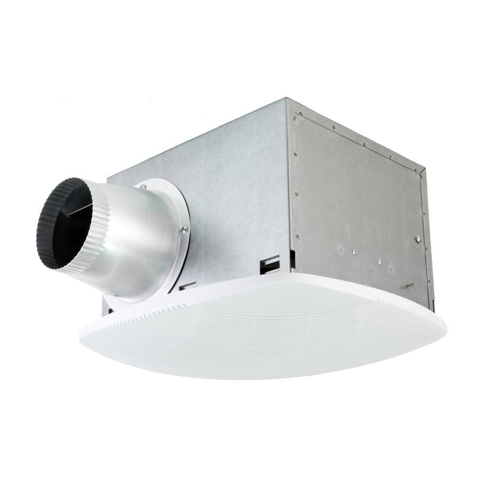 Nuvent Super Quiet 80 Cfm High Efficiency Ceiling Bathroom Exhaust