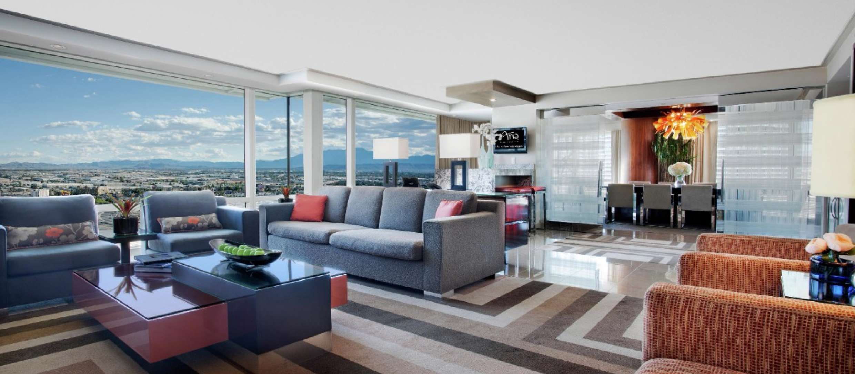 Executive Hospitality Suite Aria Resort Casino Vegas Suites Outdoor Furniture Sets Luxury Suite