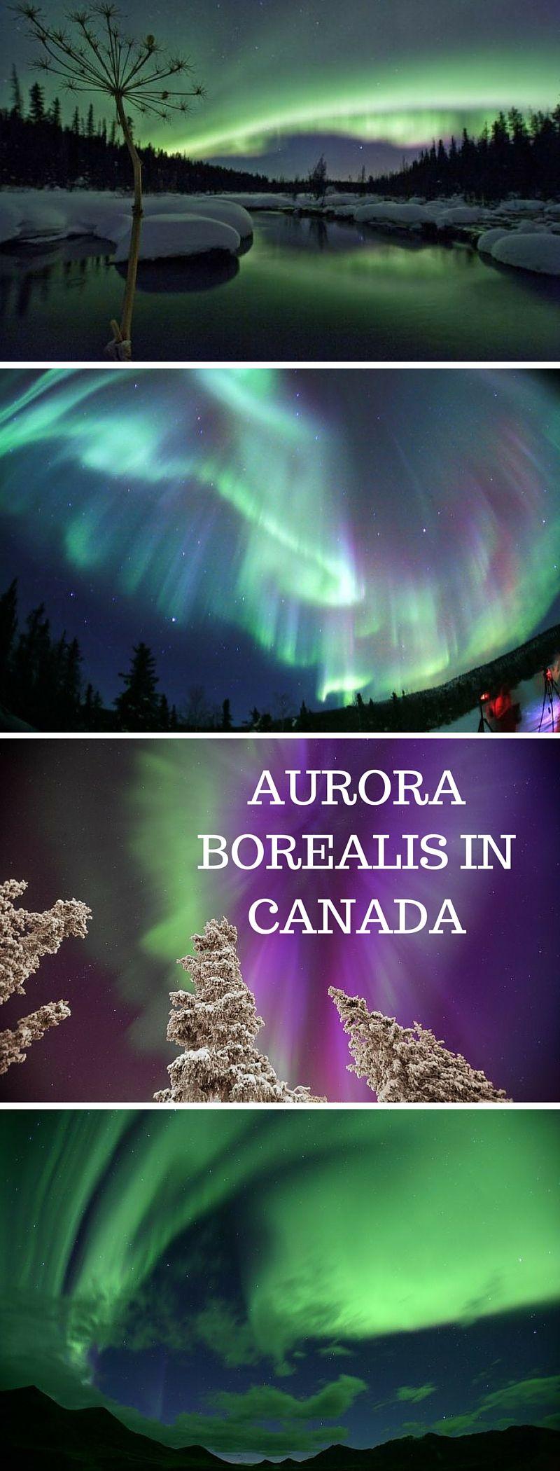 Aurora Borealis in Canada | Cosmos- The Universe ...