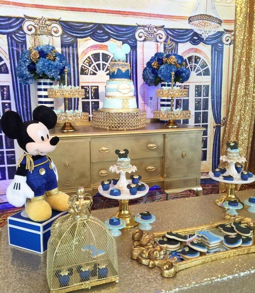 Mickey Mouse Mickey The King Birthday Party Ideas Mickey Mouse Birthday Party Mickey Birthday Mickey Mouse Birthday